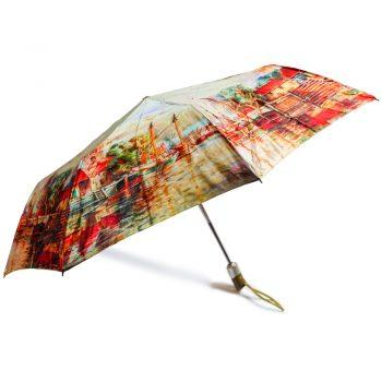 Luksusowy parasol ZEST w ozdobnym pudełku-PRZYSTAŃ