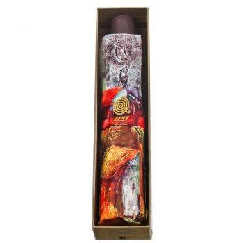 Luksusowy parasol ZEST w ozdobnym pudełku-MIASTO PANORAMA