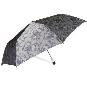 Luksusowy, jacquardowy parasol ZEST w ozdobnym pudełku-JACQUARDOWE JASNE KWIATY