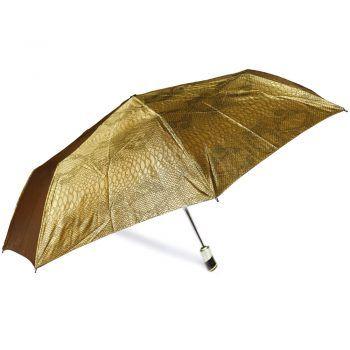 Luksusowy, jacquardowy parasol ZEST w ozdobnym pudełku- JACQUARDOWY ZŁOTY WĄŻ